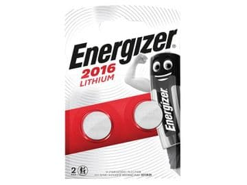 CR2016 Coin Lithium Battery (Pack 2)